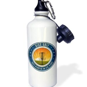 Putt Plastic in Its Place Sports Water Bottle
