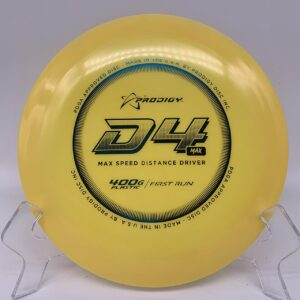 Prodigy 400g D4 Max First Run Yellow/Turquoise