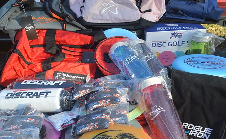 Some Accessories at Disc Golf America