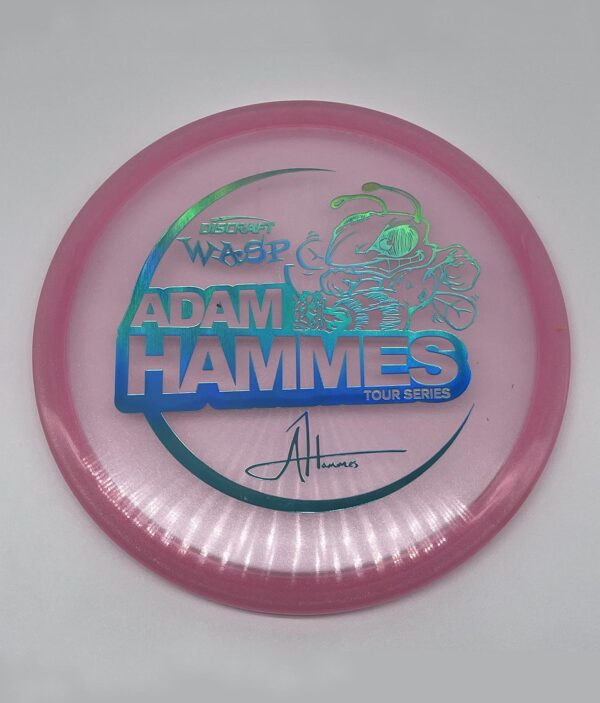 Discraft 2021 Adam Hammes Tour Series Wasp Pink/Teal Holographic