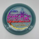 Discraft 2021 Andrew Presnell Tour Series Force Light Blue/Rainbow Shatter