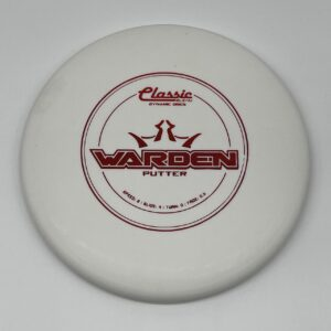 Dynamic Discs Classic Blend Warden White/Red