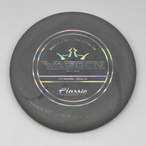 Dynamic Discs Classic Soft Warden Gray/Silver Holographic #524