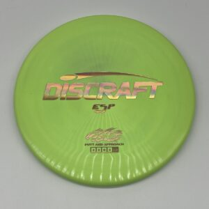 Discraft ESP Zone Green/Gold Holographic