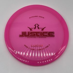 Dynamic Discs Lucid Justice Pink/Red